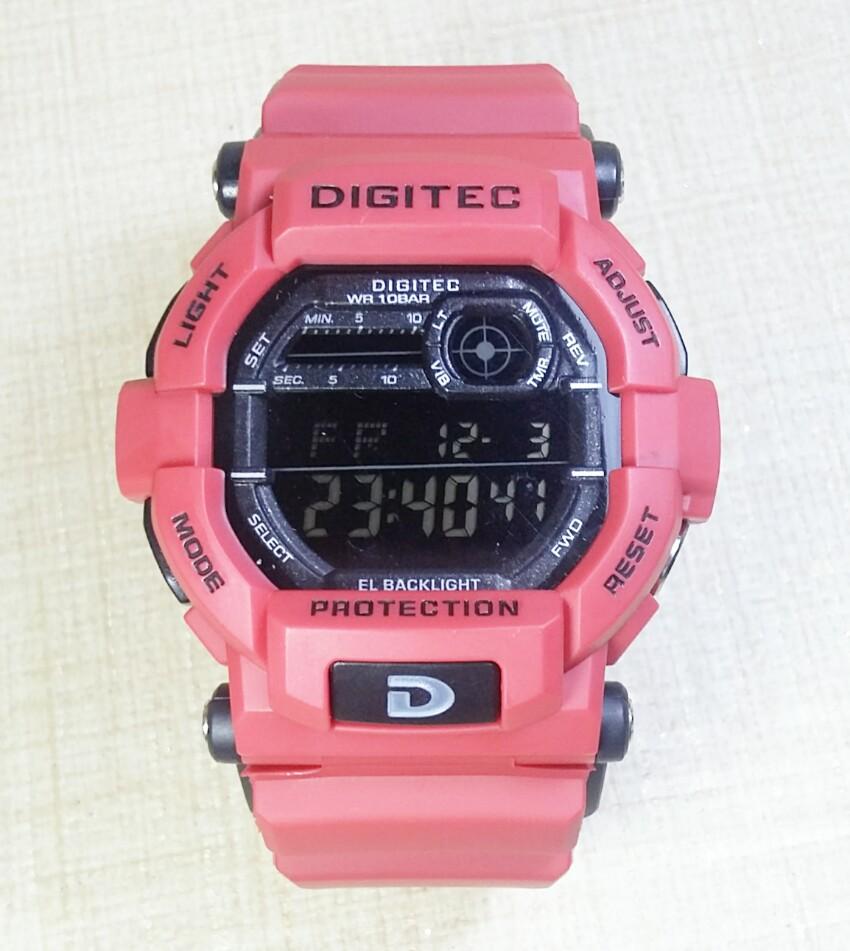 Digitec Jam Tangan Wanita Rubber Hitam Pink Dg3028t Daftar Harga Dg2011 Dg2066 Couple Dual Time Strap