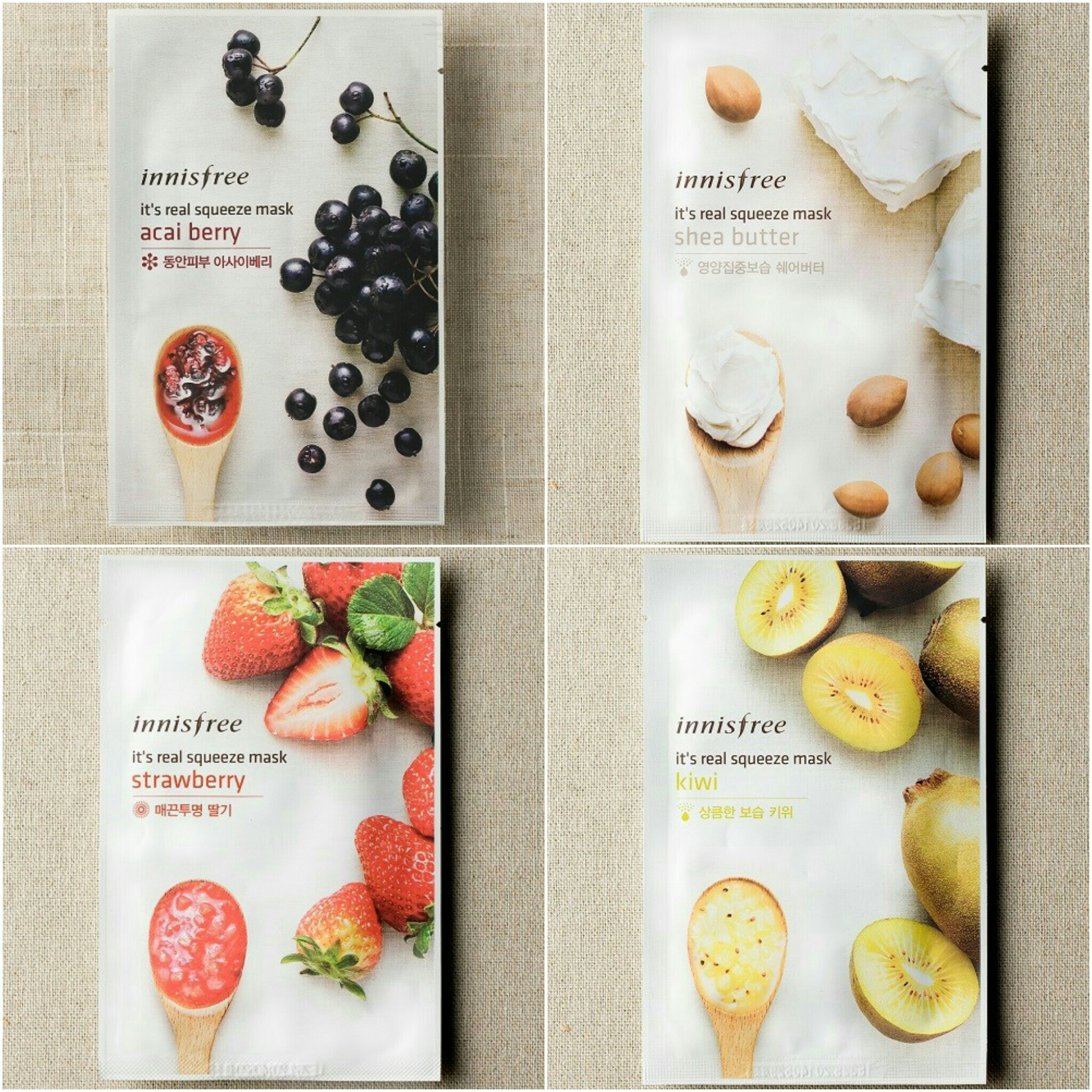 Good Lookinginc Shop Line Innisfree Real Squeeze Mask Strawberry Satuaninnisfree Its