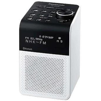 パナソニック Panasonic FM/AM ラジオ ブルートゥース対応 RF-200BT ホワイト
