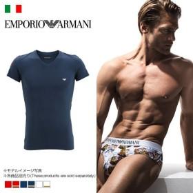 30%OFF (エンポリオ・アルマーニ)EMPORIO ARMANI Vネック Tシャツ ARH665020