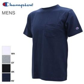 【メール便(20)】 (チャンピオン)Champion クルーネック ポケット付きTシャツ