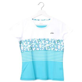 プリンス Prince レディース テニス 半袖Tシャツ ゲ-ムシャツ WL7048