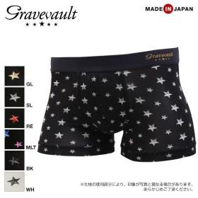 (グレイブボールト)Gravevault STAR STUDS ショートボクサーパンツ SML 3051212