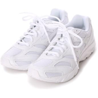 ミズノ MIZUNO ランニングシューズ 8KA-33201 8KA-33201 ホワイト 4032 (ホワイト×ホワイト)