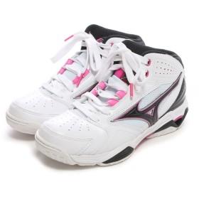 ミズノ MIZUNO バスケットボールシューズ ウェーブプライドBB3 W1GB155009 ホワイト 175 (ホワイトP)