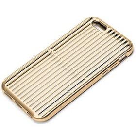 PGA iPhone 6s/6用アルミニウムケース スリット ゴールド PG-I6SAL02GD