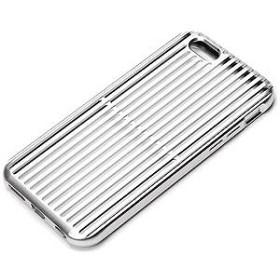 PGA iPhone 6s/6用アルミニウムケース スリット シルバー PG-I6SAL01SV