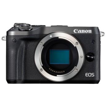 CANON EOS M6 ボディ ブラック [ミラーレスカメラ] デジタル一眼カメラ