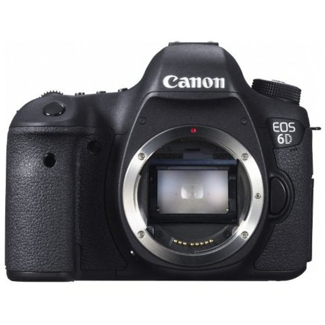 CANON EOS 6D ボディ [デジタル一眼レフカメラ (2020万画素)] デジタル一眼カメラ