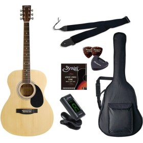 SepiaCrue FG-10/N ライトセット ナチュラル [アコースティックギター初心者入門ライトセット ] アコースティックギター初心者入門セット