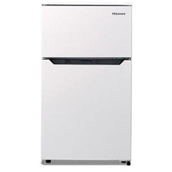Hisense HR-B95A ホワイト [冷蔵庫 (93L・右開き・2ドア)] 冷蔵庫/冷凍庫