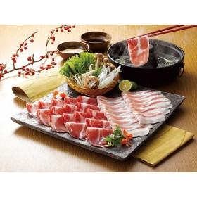 食品 イベリコ豚しゃぶしゃぶ (肩ロース肉・ばら肉×各200g/計400g) SB-570 セット品(肉)