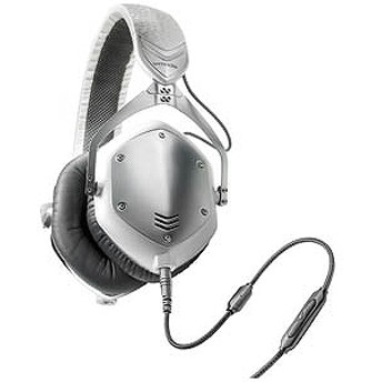 VMODA ヘッドホン Crossfade M-100(WHITE SILVER) M-100U-WSILVER