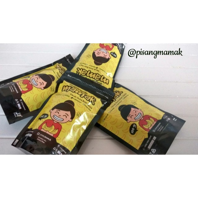 Paket 6 Keripik Pisang Mamak Capucino: Rp 72.000