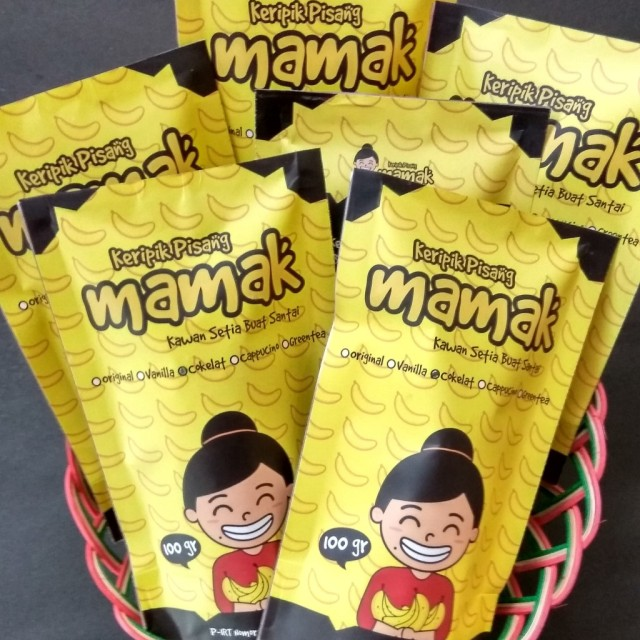 Paket 5 Keripik Pisang Mamak Cokelat: Rp 60.000 · Paket 7 Mix ...