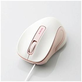 エレコム 有線BlueLEDマウス[USB・Mac/Win](3ボタン・ピンク) M-MK1UBSPN