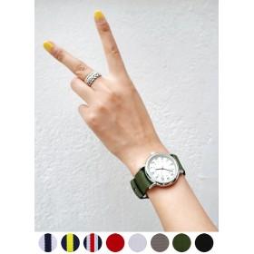 ナイロンストラップ腕時計・全8種類・n44990