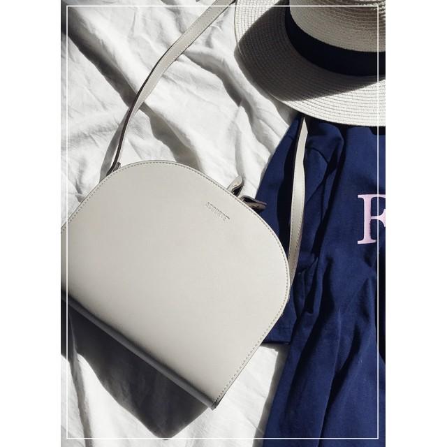 ○雑誌掲載商品○ハーフムーンショルダーバッグ・全7色・n47465