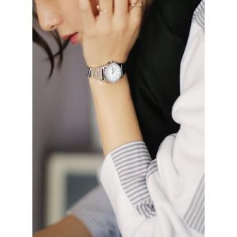 CASIOラウンドフレームメタル腕時計・全4色・n42971
