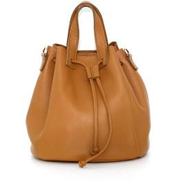 リアルレザー巾着バッグ・全4色・n41378