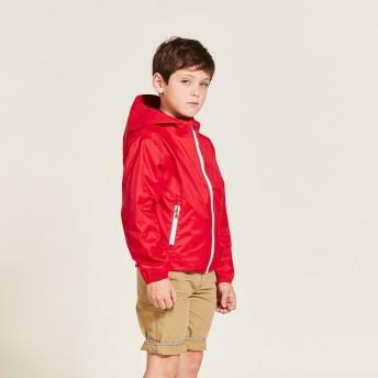 AIGLE キッズ・ベビー キッズ・ベビー 4歳~8歳 透湿防水 ポップレイニー レインジャケット ZBJF358 LAQUE: KD (009) キッズウェア