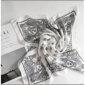○多数雑誌掲載商品○ペイズリーパターンシルキースカーフ・全5色・d45833