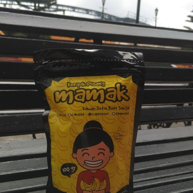 Paket 7 Keripik Pisang Mamak Original: Rp 84.000