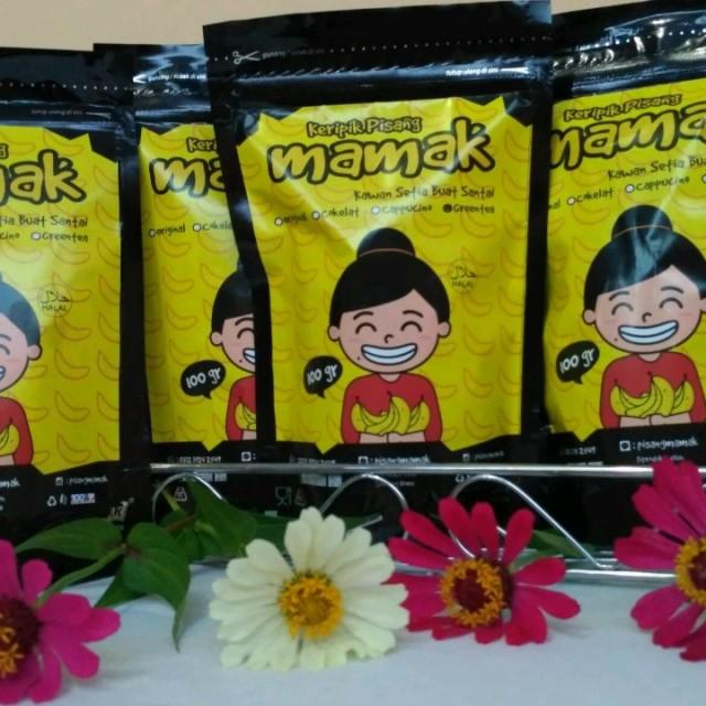 Paket Mix 3 Keripik Pisang Mamak: Rp 36.000
