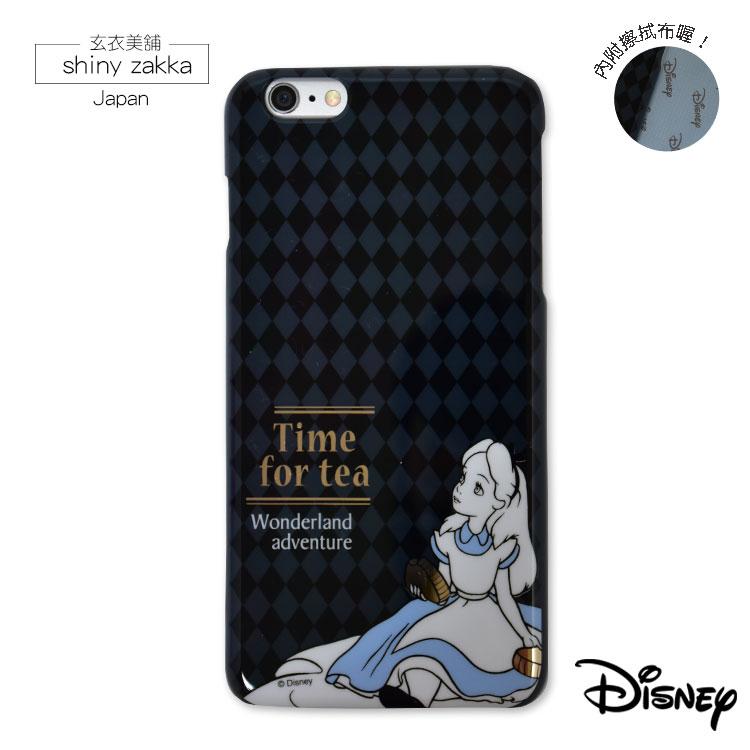 iPhone蘋果手機殼-日本Disney迪士尼 i6(S) PLUS透明手機硬殼-愛麗絲-玄衣美舖  ※附擦拭布