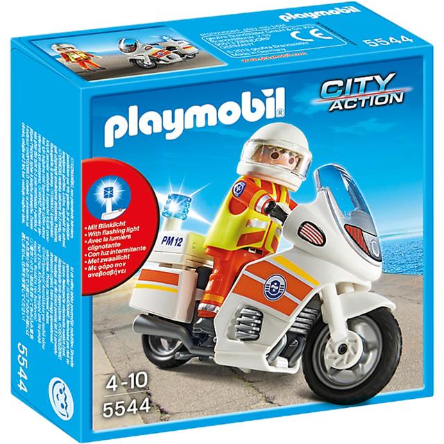 Playmobil 摩比 5544 摩托車