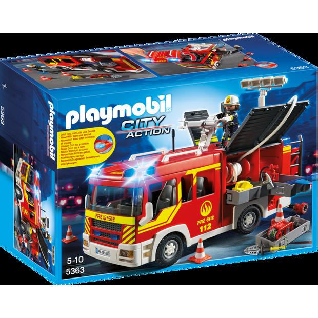 Playmobil 摩比 5363 消防車
