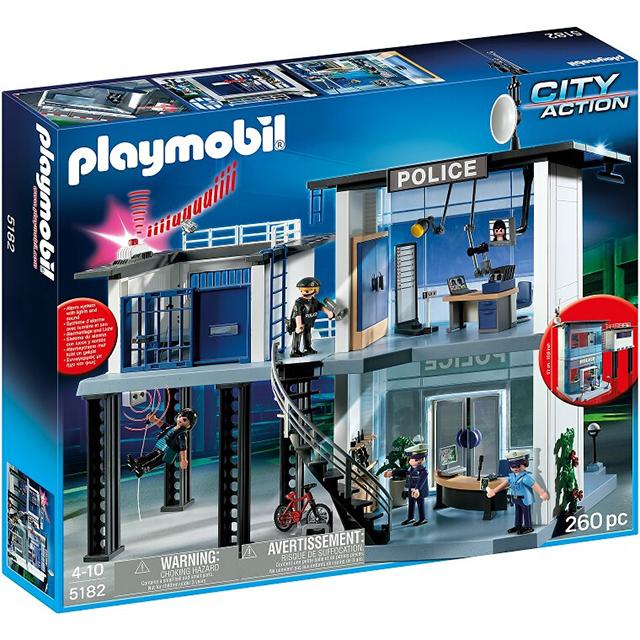Playmobil 摩比 5182 警察局