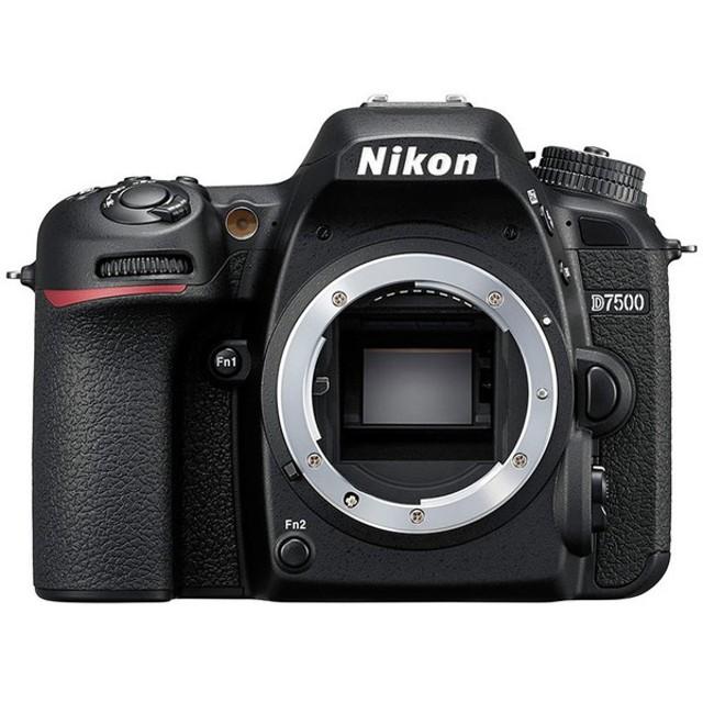 Nikon D7500 ボディ ブラック [デジタル一眼レフカメラ (2151万画素・レンズ別売)] デジタル一眼カメラ