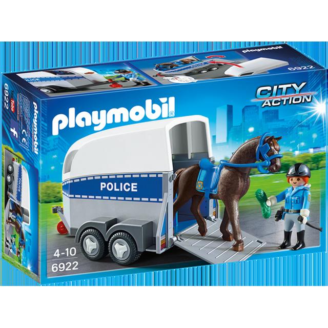 Playmobil 摩比 6922 警察馬車