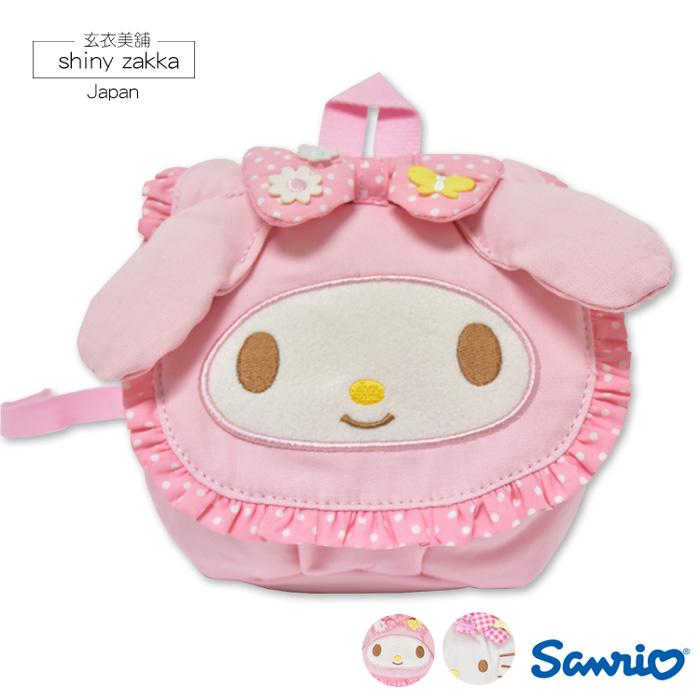 兒童後背包-日本Sanrio三麗鷗大頭後背包-玄衣美舖
