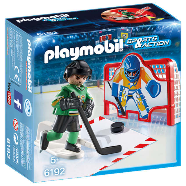Playmobil 摩比 6192 冰上曲棍球球員