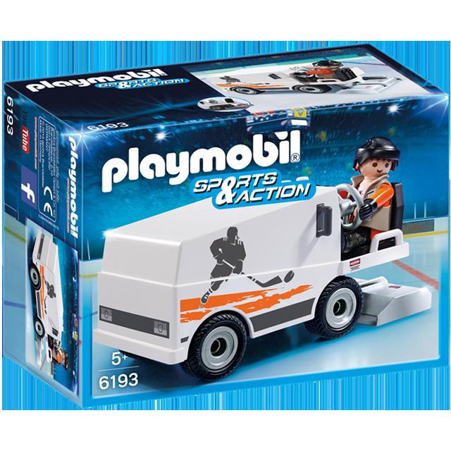 Playmobil 摩比 6193 溜冰場維修車