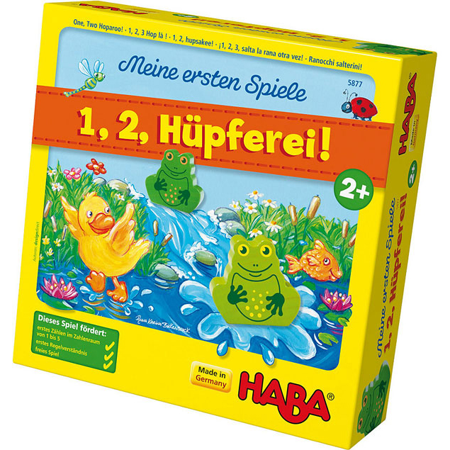 HABA 5877 青蛙跳下水