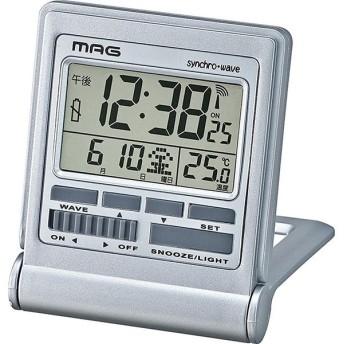 ノア精密 T-714SM-Z [電波時計(ミネルバ)] 目覚まし時計