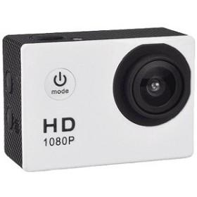 SAC マイクロSD対応 防水ハウジングケース付きアクションカメラ AC150WH(ホワイト)