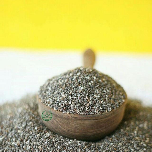 Organic Black Chia Seed Mexico - 500g: Rp 110.000