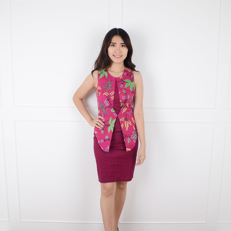 De Voile Batik Fashion Wanita Fineta BTUP SLV (Fanta) 85e0f9f882