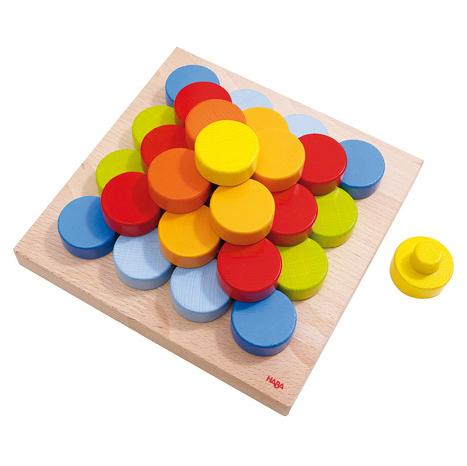 HABA 5672 彩色圓片積木
