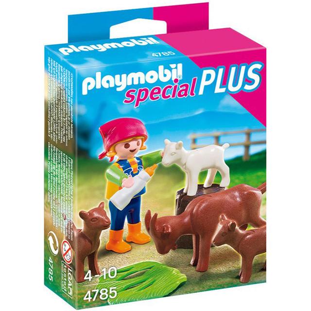 Playmobil 摩比 4785 小孩與動物