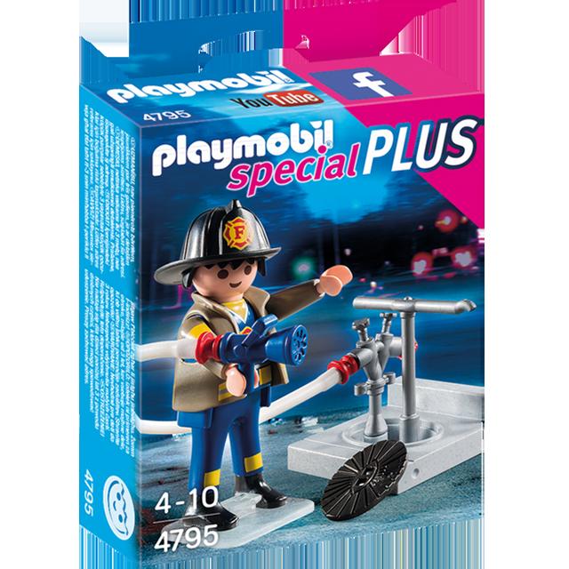 Playmobil 摩比 4795 消防員