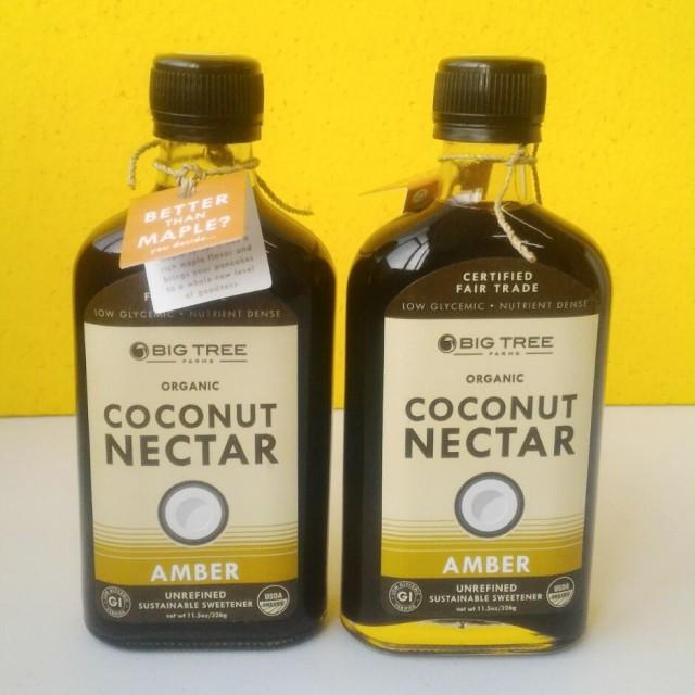 Organic Liquid Coconut Nectar {Amber) - 326g: Rp 80.000