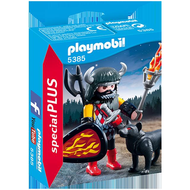 Playmobil 摩比 5385 武士與狼
