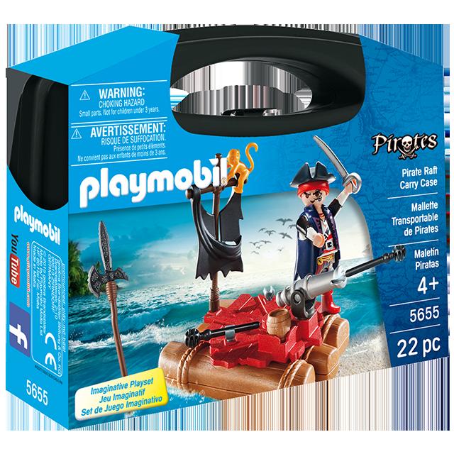Playmobil 摩比 5655 海盜手提盒