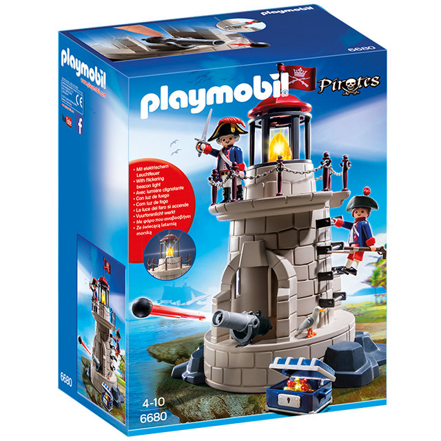 Playmobil 摩比 6680 砲台