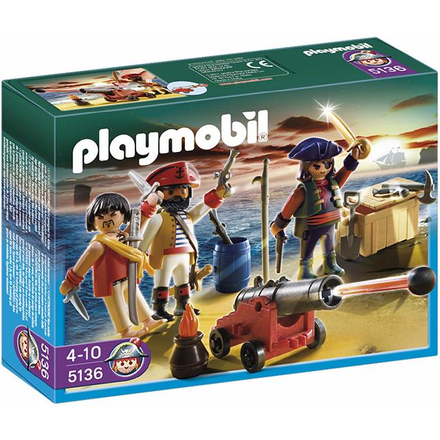 Playmobil 摩比 5136 海盜與大砲